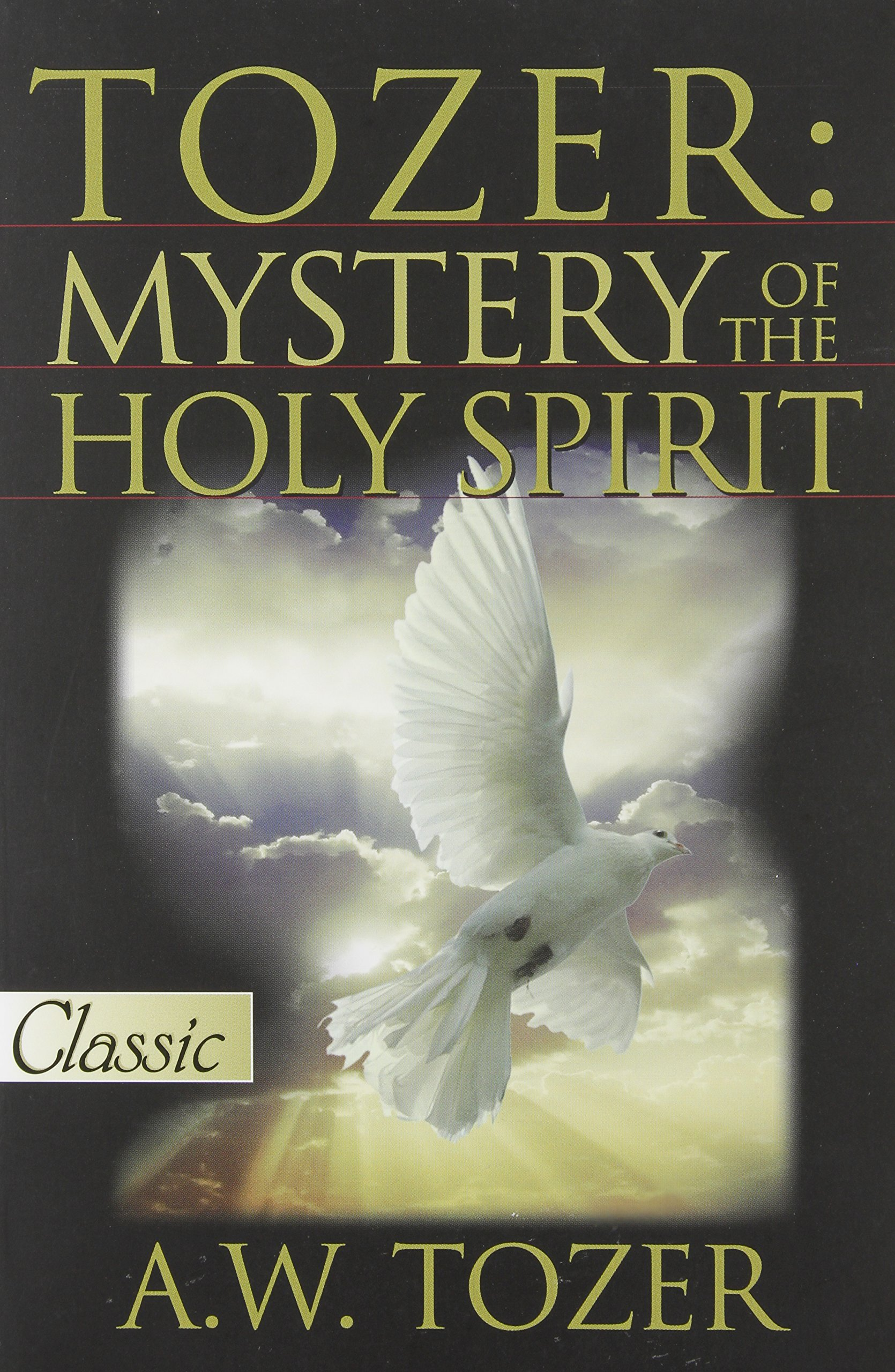 Tozer Mystery Of The Holy Spirit Pure Gold Classics A W 9780882703428 Amazon Books