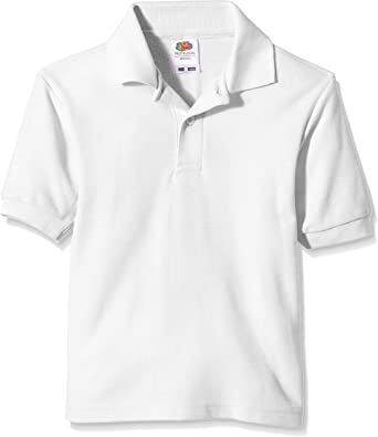 Fruit of the Loom Pique Polo Camiseta para Niñas