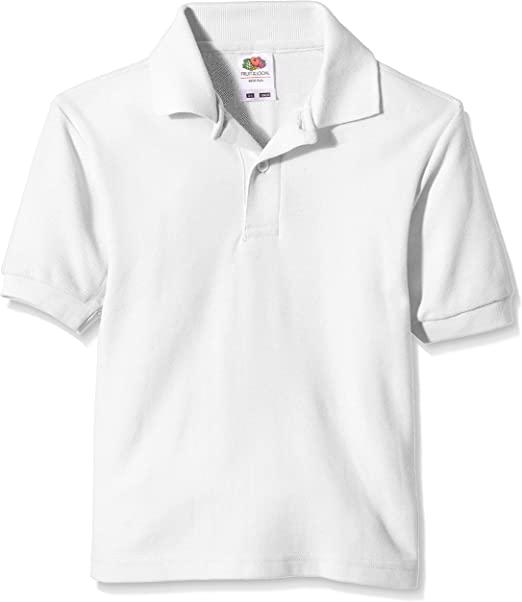 Fruit of the Loom Pique Polo Camiseta para Niñas: Amazon.es: Ropa ...