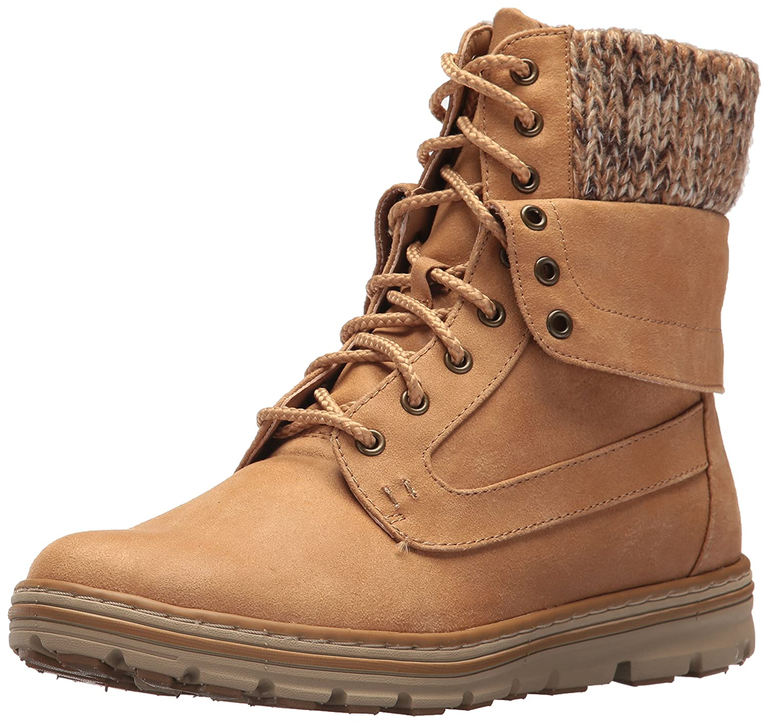 CLIFFS BY WHITE MOUNTAIN Women's Kenrick Hiking Boot B074PJ47B1 7 B(M) US|Wheat