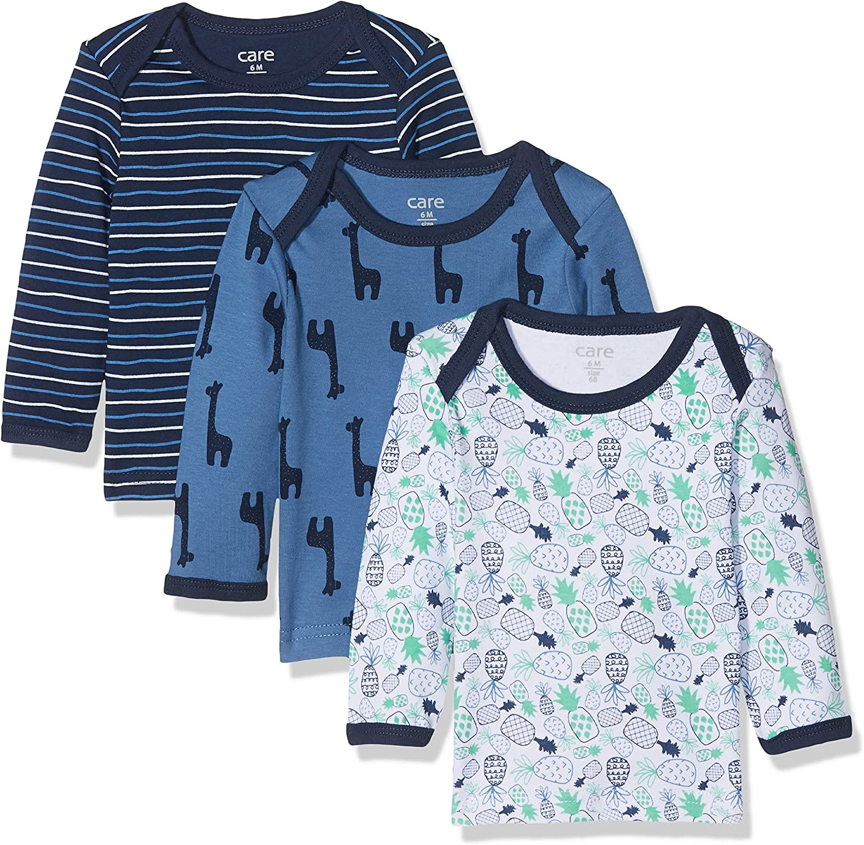 TupTam Baby Boys Long Sleeve Shirt Pack of 5