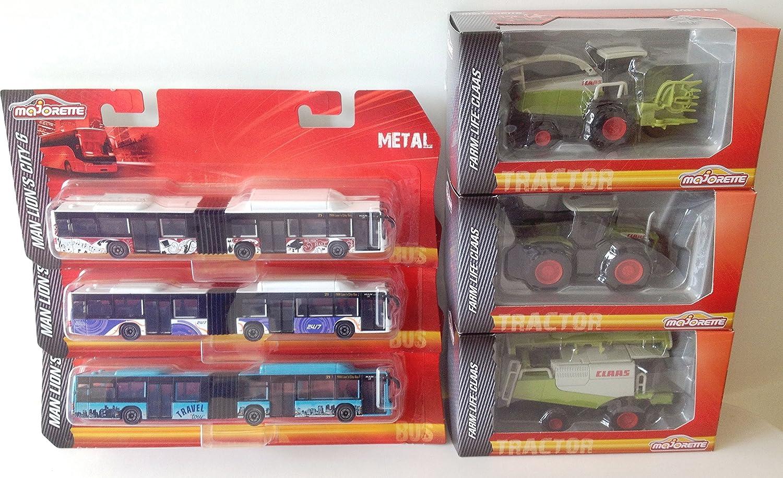De Miniatures Majorette Lot Tracteurs Générique VoituresBusEt 10 TK1lFc5uJ3