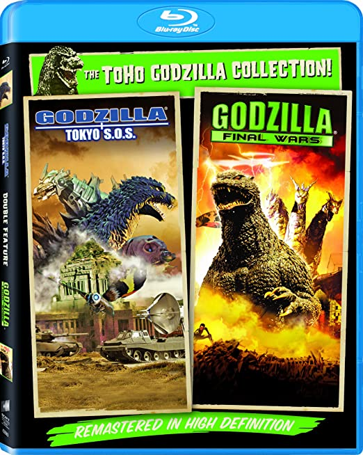 Godzilla Final Wars Godzilla Tokyo S O S Set Blu Ray Godzilla Final Wars Godzilla Tokyo Sos Movies Tv