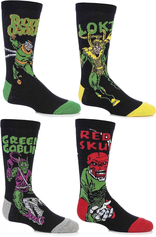 SockShop Kids 3 Pair Marvel Captain America Mix Cotton Socks
