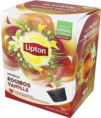 Lipton Infusión De Rooibos Vainilla Cápsulas Compatible Nescafé ...