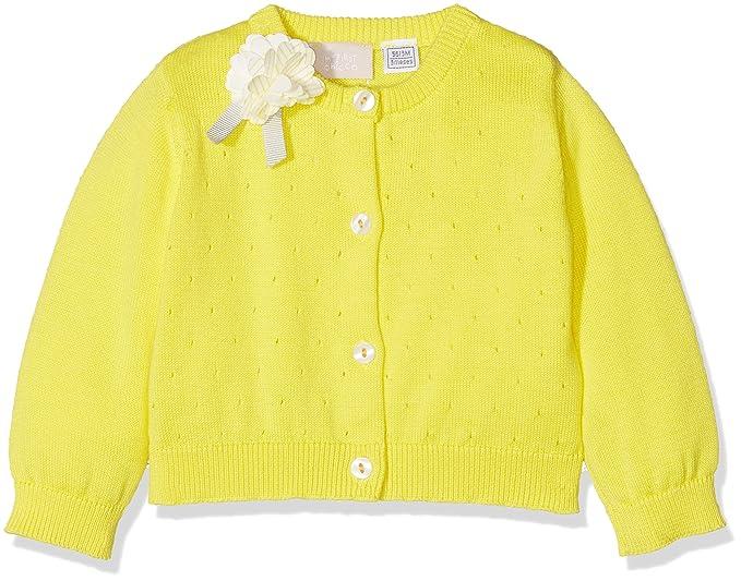 premium selection 34907 9058f Chicco 09096636000000 Cardigan, (Giallo Medio 041), 62 ...