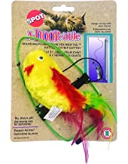 Ethical Pet A-Door-Able Plush Bird with Feathers