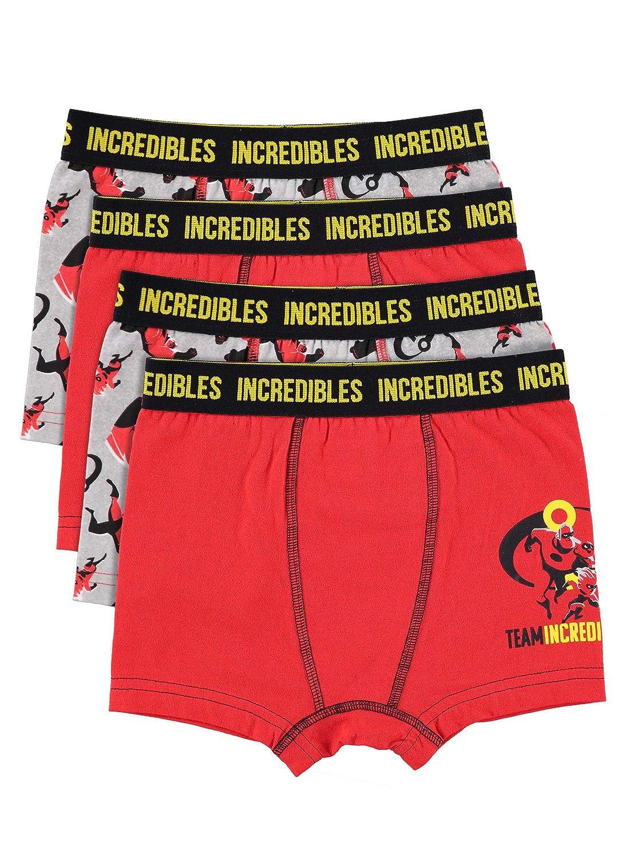 Incredibles 2 Boys Boxers | Pack of 4 Kids Underwear Jellifish Kids