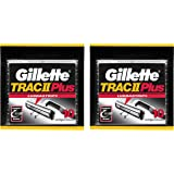 Gillette Trac II with Lubrastrip Men's Razor Blade Refills, 10 Count (Pack of 2)