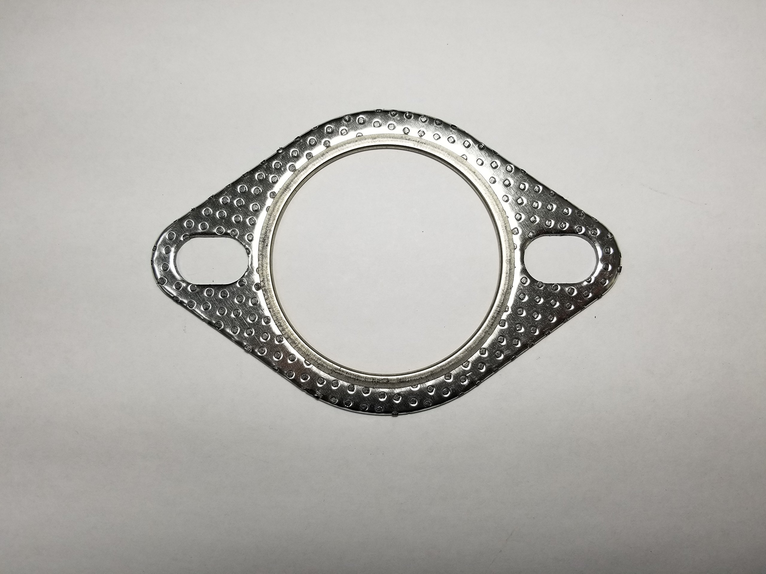 2.5'' ID 2 Bolt MLSG High Temp Exhaust Gasket (Qty 2) - Heavy Duty -120-06310-0001 (2.5 Inch) - Ticon Industries
