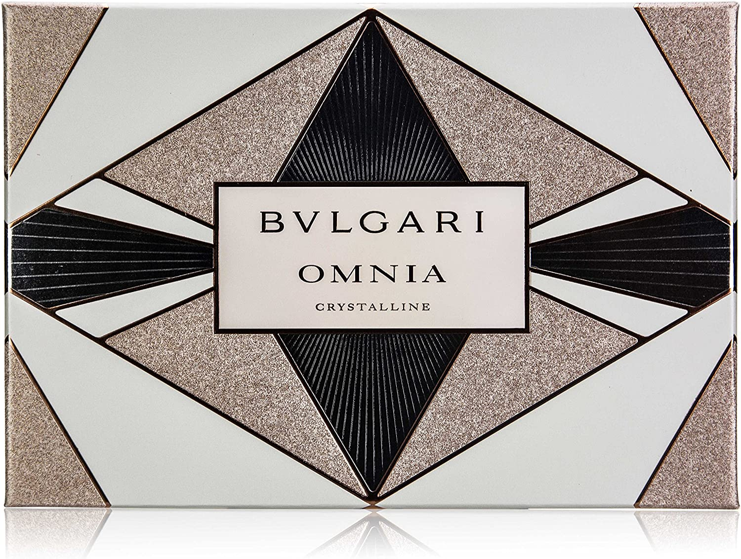 BULGARI Estuche Fragancia Edt Omnia Crystalline 40 ml + Body Milk 40 ml + Gel 40 ml 40 ml (blank): Amazon.es: Belleza
