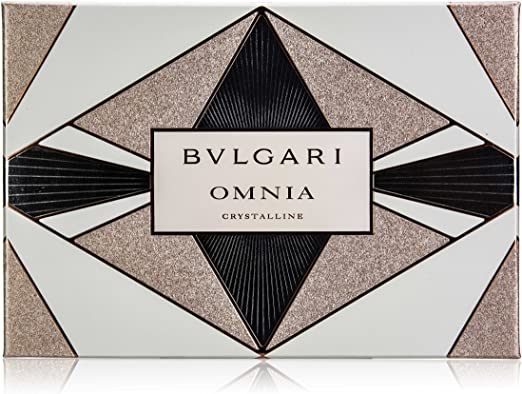 BULGARI Estuche Fragancia Edt Omnia Crystalline 40 ml + Body Milk 40 ml + Gel 40 ml 40 ml (blank): Amazon.es: Belleza