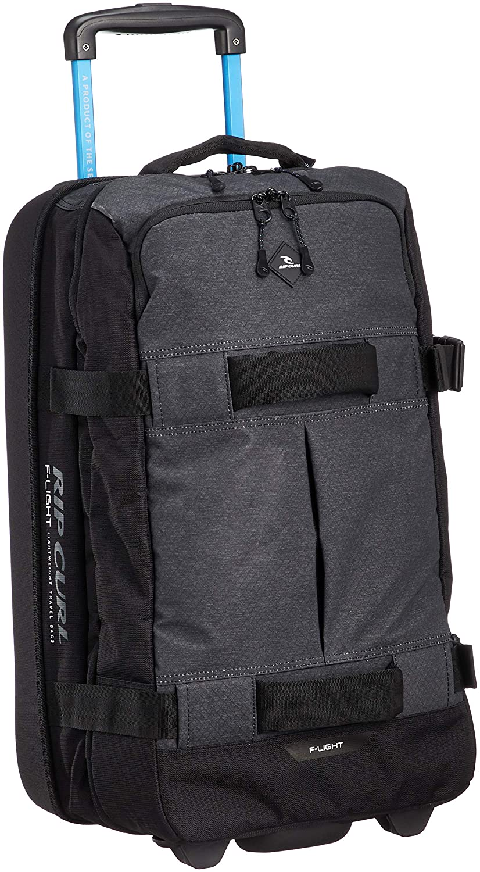 [リップカール] キャリーバッグ 50L (機内持ち込み) [/ F-Light Transit Midnight ] ソフト 旅行 ビジネス スーツケース U02-910  BLK_ブラック B07DNZSPFT