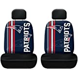 Fremont Die NFL New England Patriots Rally Seat Cover One Size Blue