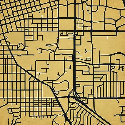 Colorado Boulder Campus Map.Amazon Com University Of Colorado Boulder Campus Map Art Unframed