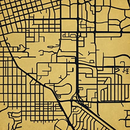 Amazon Com University Of Colorado Boulder Campus Map Art Unframed