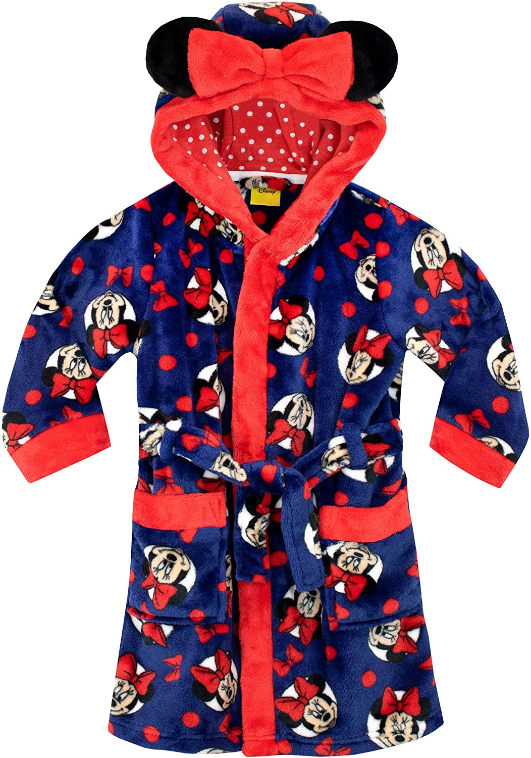 Minnie Mouse Girls Dressing Gown
