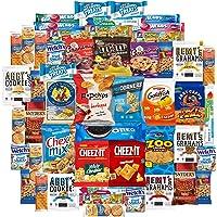 Custom Varietea 50 Count Cookies Chips & Candy Snacks Assortment Sampler