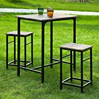 Deals on Haotian Sling High Bistro Set