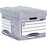 Bankers Box System Standard-Archivbox (Fastfold System) 10 Stück grau