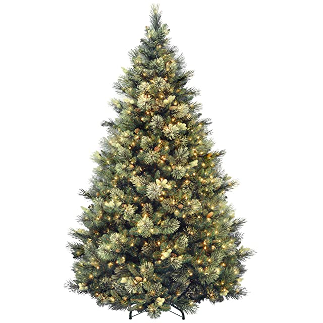 National Tree Company Carolina Pine Pre-lit Artificial Christmas Tree