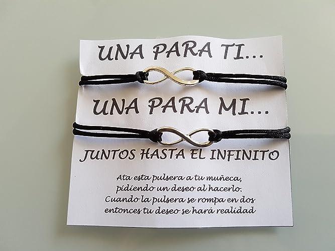 SET von 2 Infinity Armbänder, Infinity Armband, paar Armband, bester ...