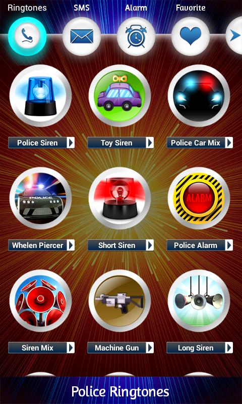 Policía Ringtones: Amazon.es: Appstore para Android