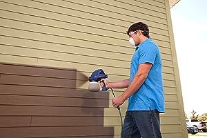 HomeRight C800916 6.8 GPH Medium Duty Paint Sprayer, 100-watt
