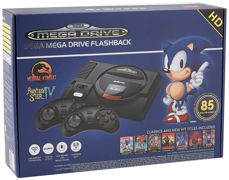 AT Games Arcade Classic Sega Mega Drive Flashback Wireless