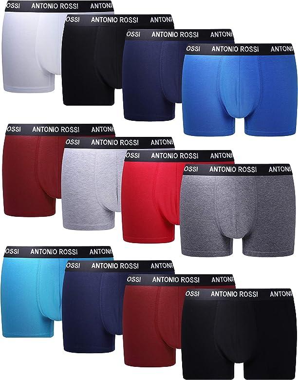 FM London Fitted Boxer, Colores Claros, Large (Pack de 12) para Hombre: Amazon.es: Ropa y accesorios