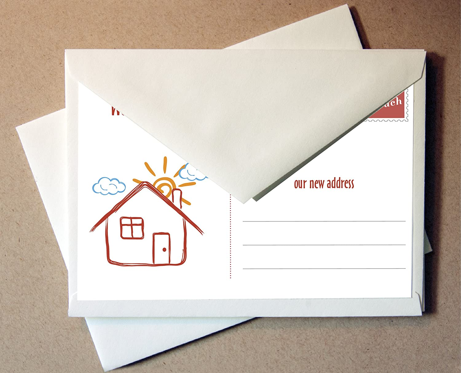 Weve Moved Moving Cards 24 Cards and Envelopes