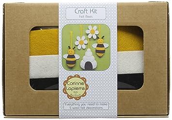 Corinne Lapierre Filz Bienen Bienenstock Und Blumen Nahen Craft Kit