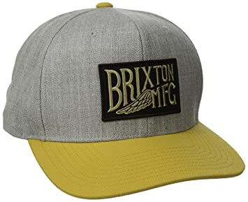 022a112709 Brixton Coventry Snap Back Cap, Unisex, Cap Coventry Snap Back, Light  Heather Grey