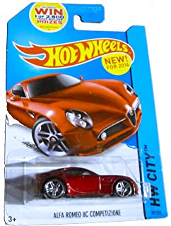 Alfa Romeo 8C Competizione in Red 1:32 scale by New-Ray Toys 52693