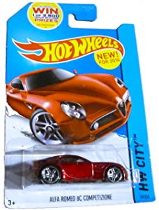 Hot Wheels HW City - 29/250 - Alfa Romeo 8C Comptetizione