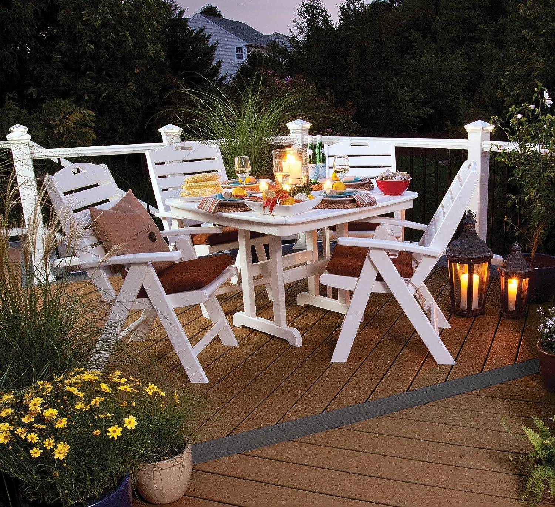 Amazon Trex Outdoor Furniture Yacht Club Folding Highback