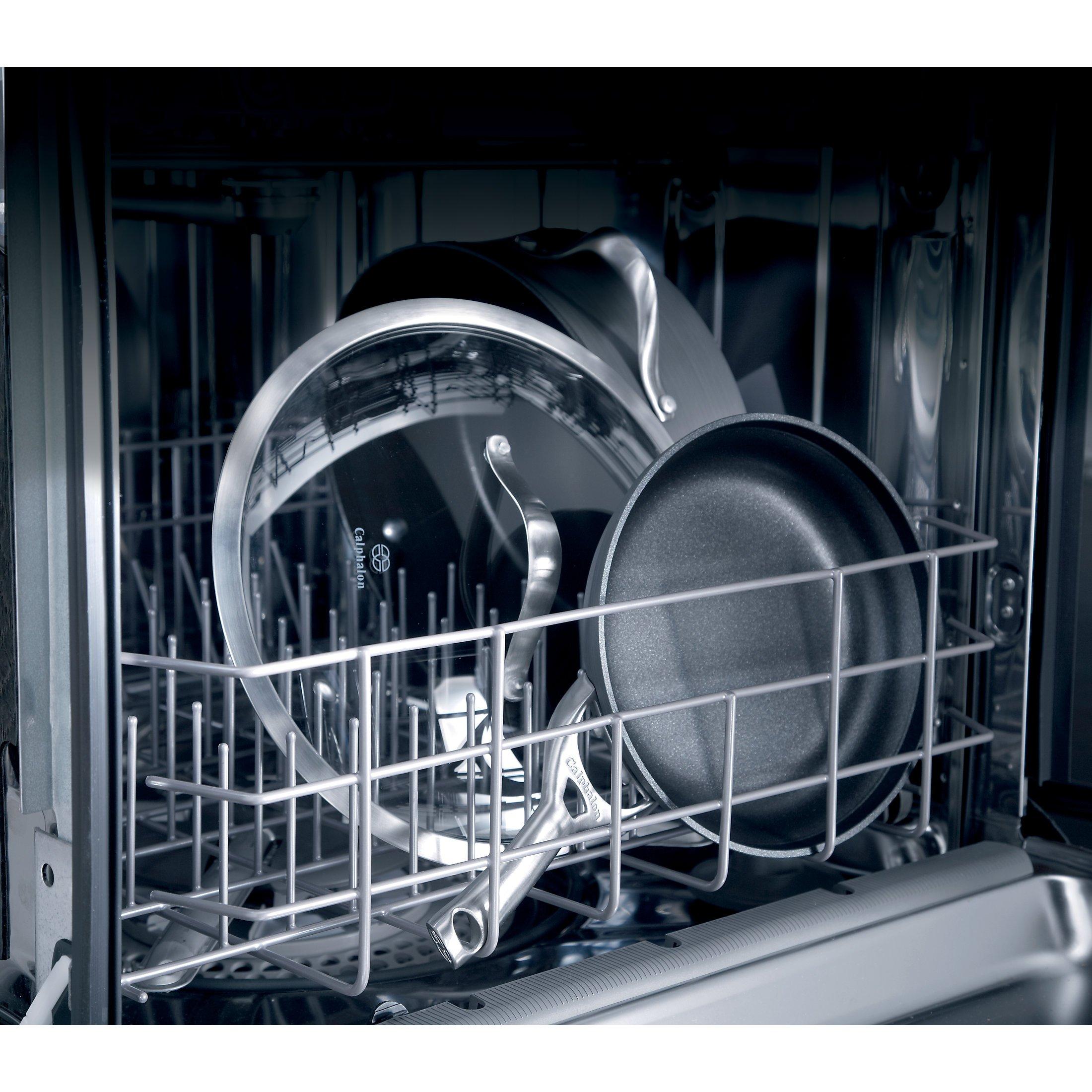 Calphalon 1876788 Contemporary Hard-Anodized Aluminum Nonstick Cookware Set, 12-Piece, Black by Calphalon (Image #4)