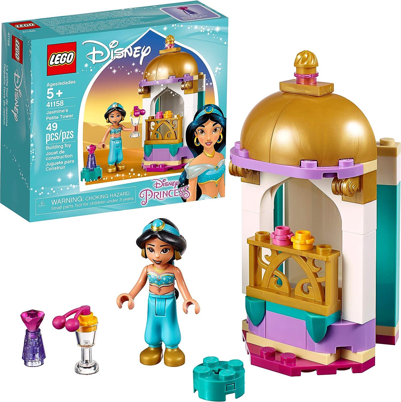LEGO Disney Jasmine's Petite Tower 41158 Building Kit (49 Pieces)