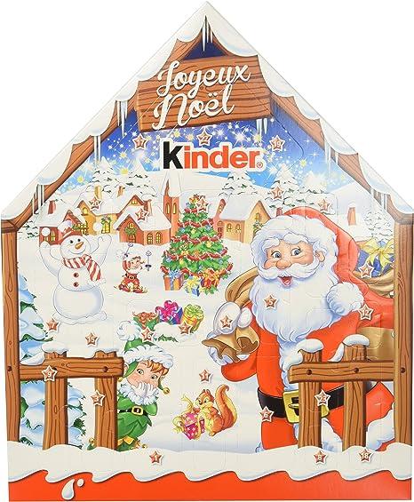 Kinder Calendrier de l'Avent Chalet Chocolat Noël   184g: Amazon