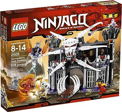 Amazon.com: LEGO Ninjago Fortaleza oscura de Garmadon 2505 ...