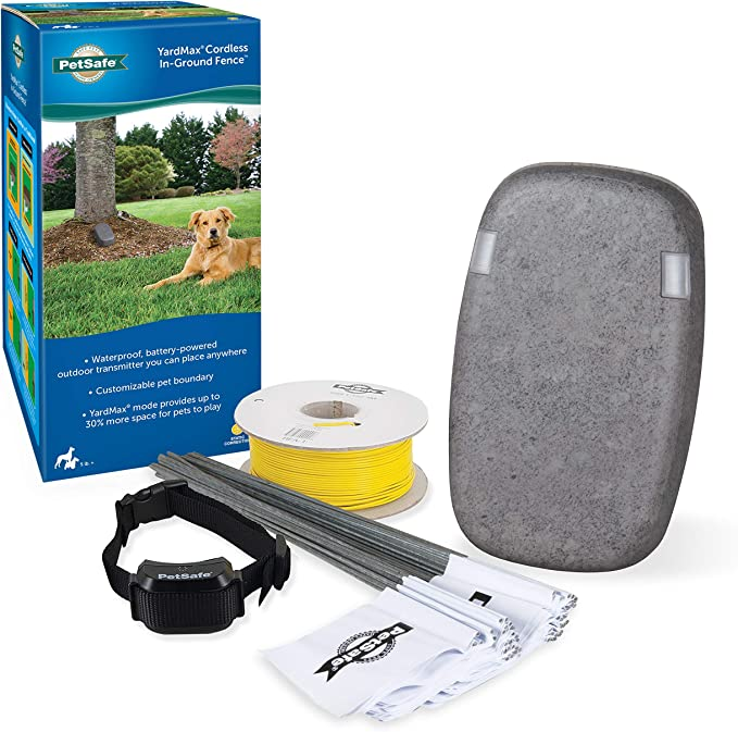 PetSafe YardMax Battery-Operated In-Ground Dog Fence