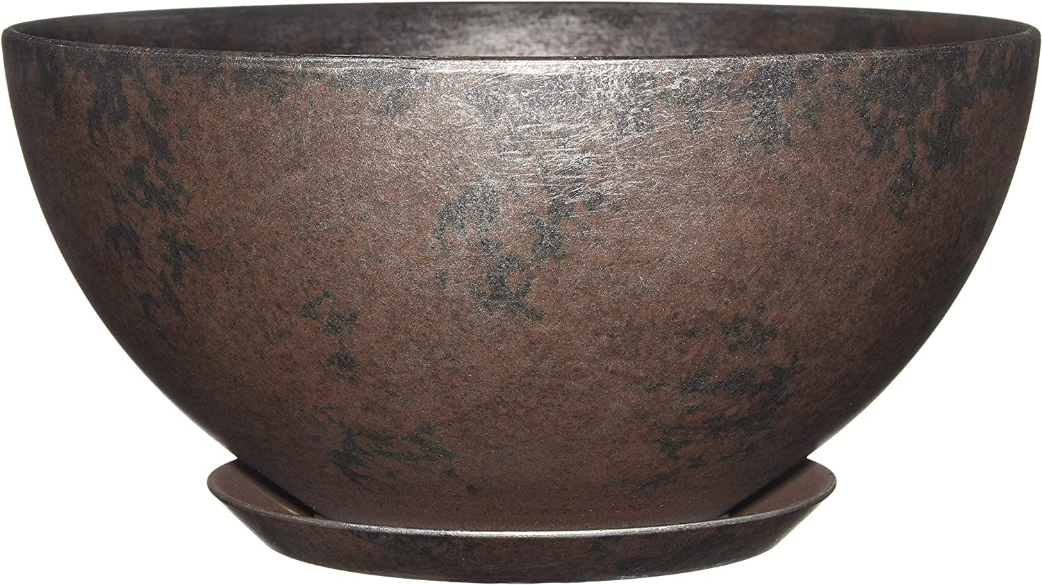 """Classic Home and Garden 9010D-379R 10"""" Rosie Bowl Planter, Northern Lights"""