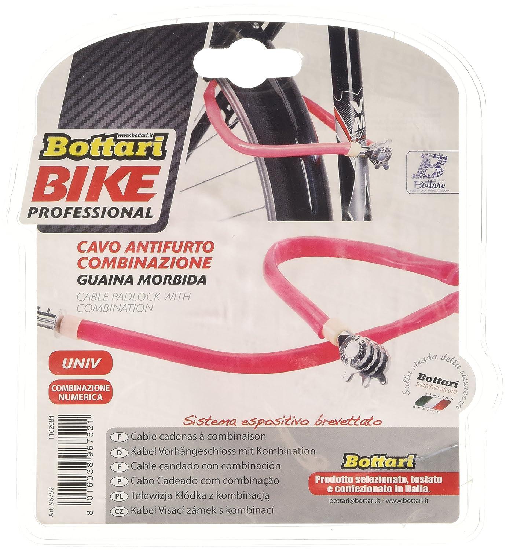 Bottari Bike Security Cable Pad Lock with Combination Soft Sheath ...