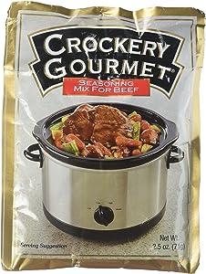 Crockery Gourmet Seasoning Mix for Beef, 2.5 oz (Pack of 3)