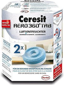 Aero 360 grados unidad deshumidificador Azul Ceresit 1655655