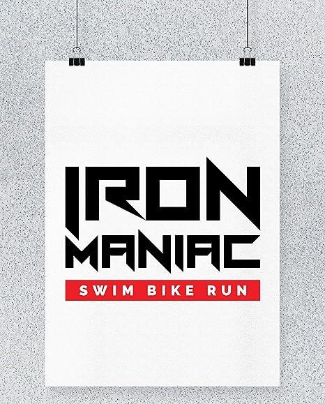 Compra Hippowarehouse Iron Maniac Swim Bike Run Cartel ...