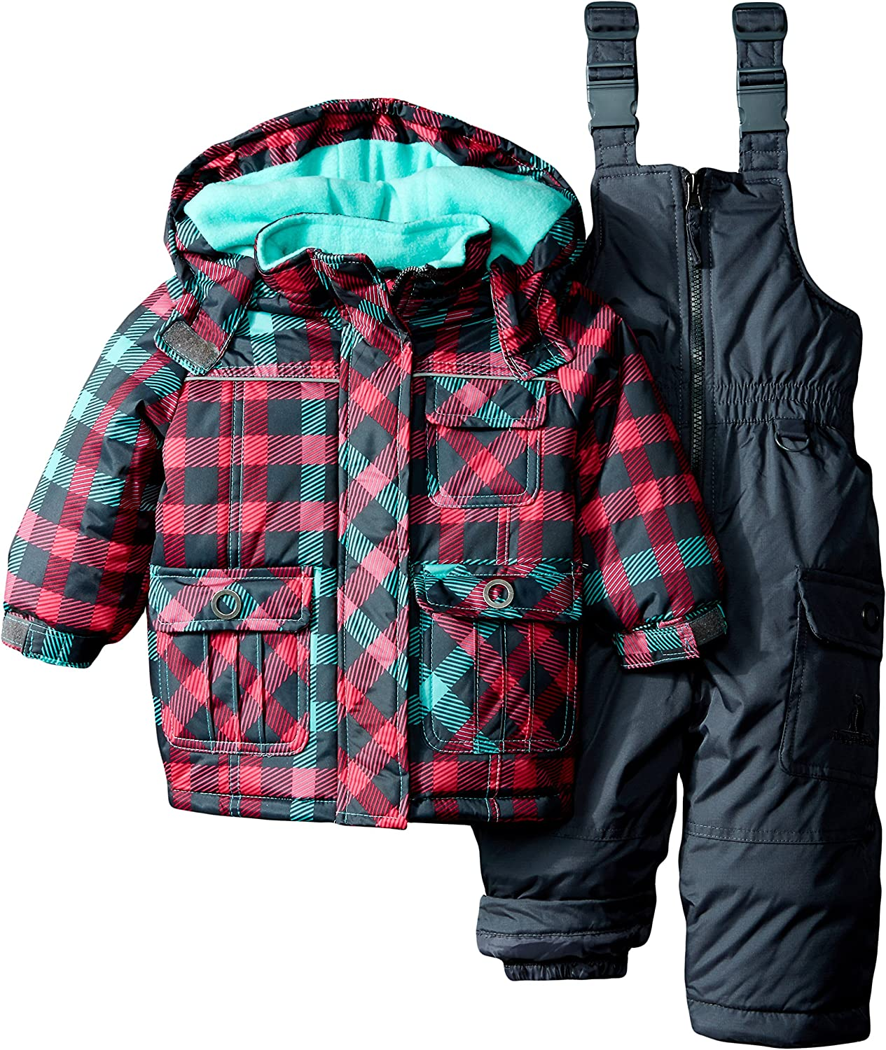 Rugged Bear Baby Girls Space Reversible Midweight