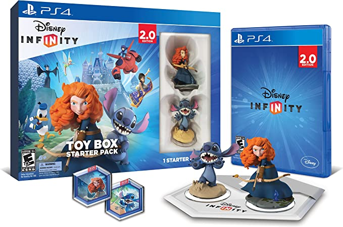 Disney INFINITY: Toy Box Starter Pack (2.0 Edition) - PlayStation ...