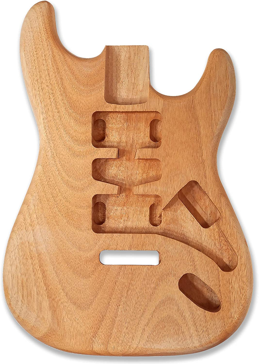 Maple Wood Unfinished Electric Guitar Body for Fender Strat ST Guitar DIY Parts