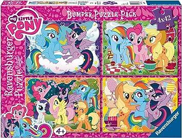 My Little Pony - Bumper Pack, Puzzles 4 x 42 Piezas (Ravensburger 06875): Amazon.es: Juguetes y juegos